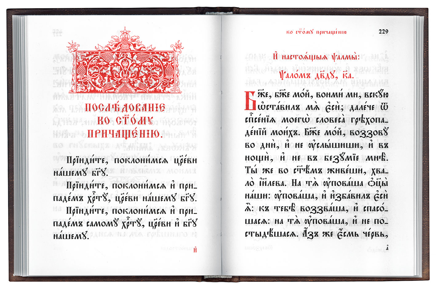 Молитвы на сон грядущий на церковно славянском скачать